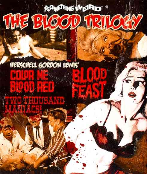 BLOOD TRILOGY BY KERWIN,WILLIAM (Blu-Ray)