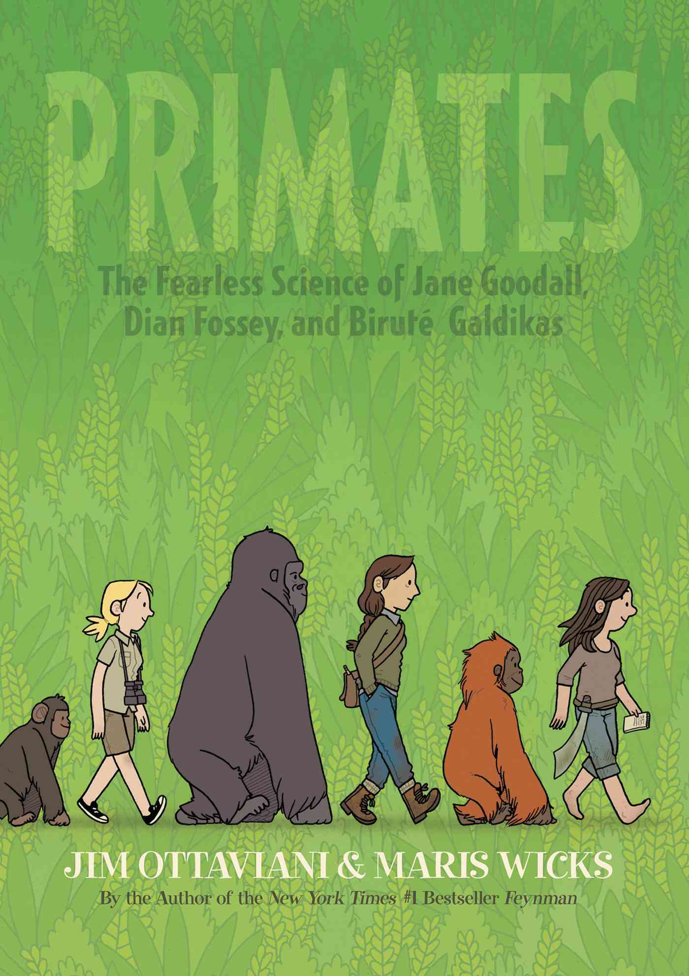 Primates By Ottaviani, Jim/ Wicks, Maris